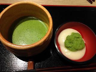 Matcha ; Matcha Green Tea(Lt), Zunda Mochi ; Edamame Rice Cake(Rt)