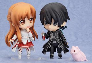 Nendoroid Kirito Asuna Sword Art Online Jepang Good Smile Company Lingkaran Media