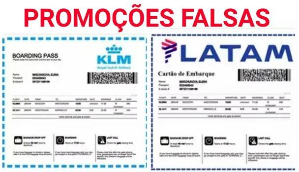 LATAM está dando 2 ingressos grátis para todos no 41º aniversário - Falso