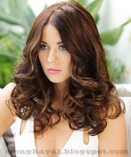 foto model rambut ikal