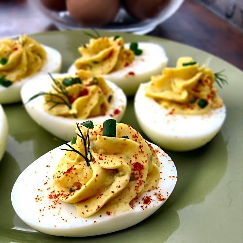 simple deviled eggs are a classic appetizer that everyone loves