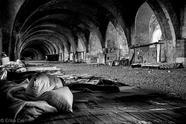Trieste, refugees, silos