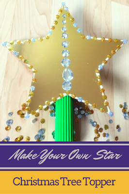 Make Your Own Star Christmas Tree Topper (with Free Printable)