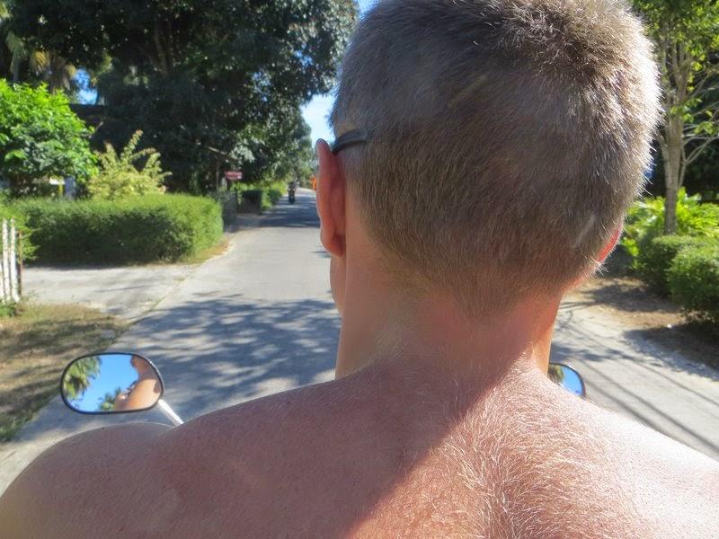 На скутере остров Самуи