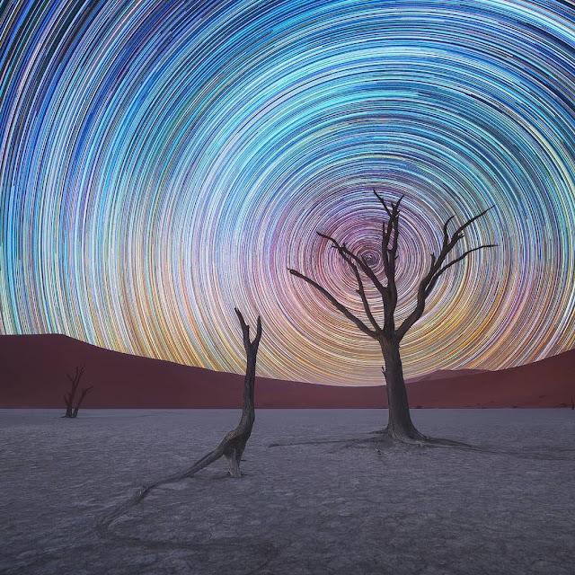 美しすぎる??星空の長時間露光写真。5枚【n】