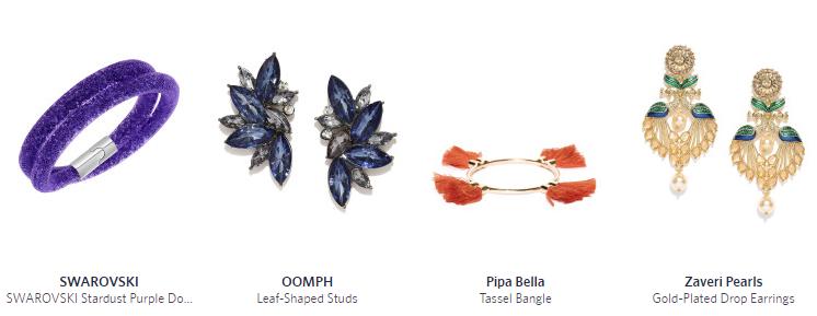 jewellery myntra