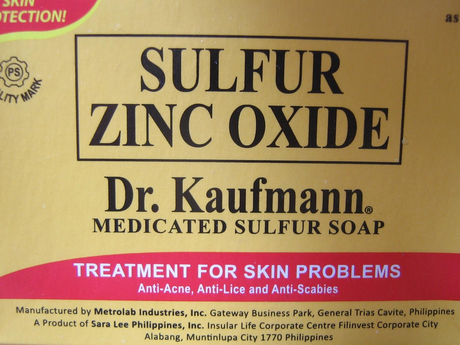 Dr  Kaufmann's Sulfur Soap   The Rich Street Deli     In Motion Again!