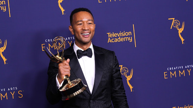 John Legend becomes the first black man to achieve EGOT status