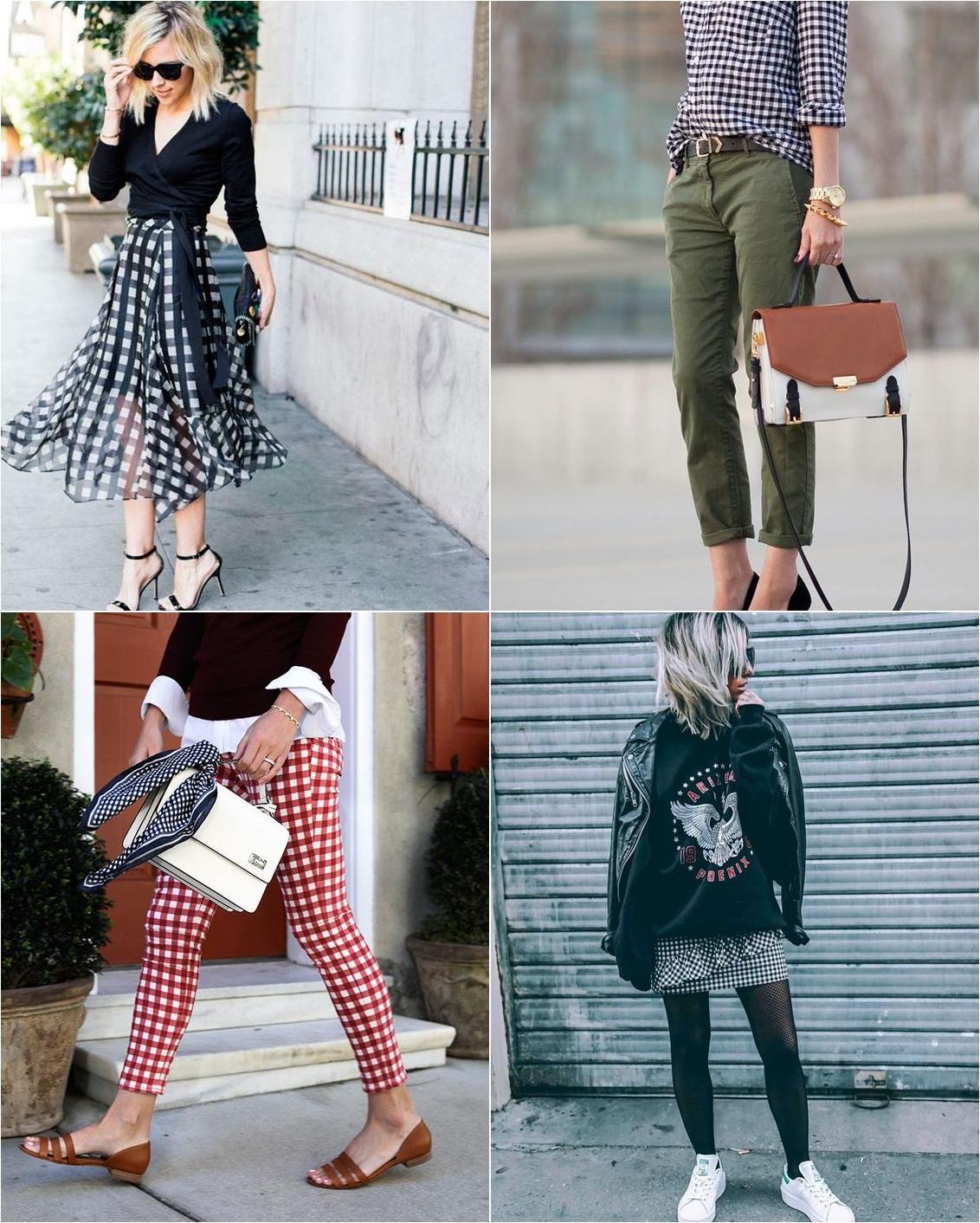 estampa vichy moda blog www.antesdos30.com