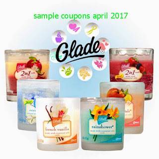 free Glade coupons april 2017