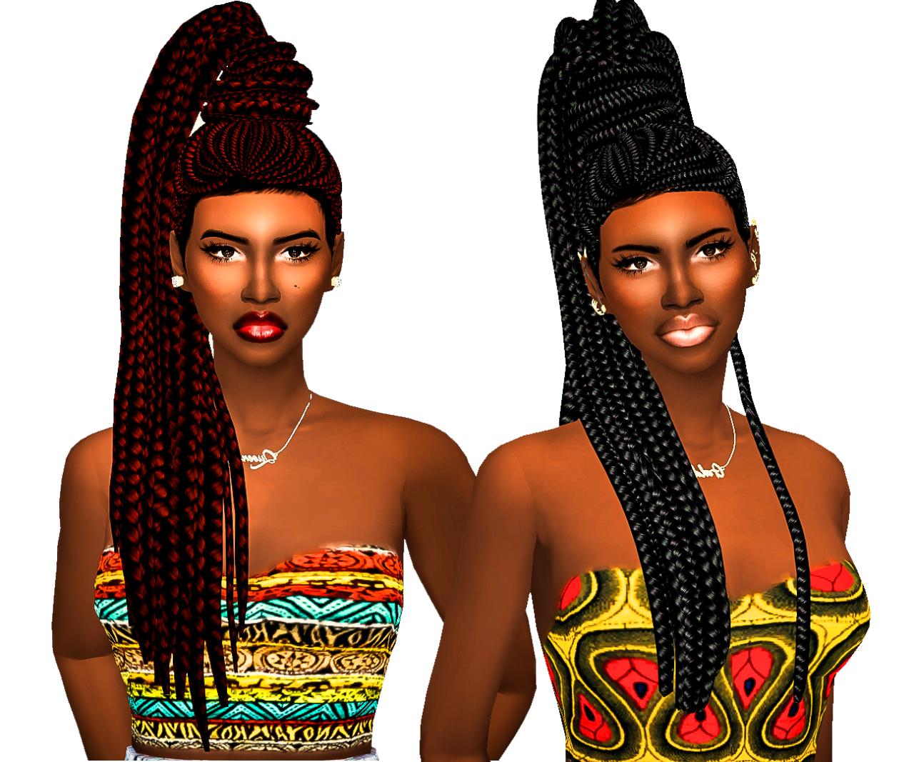 Sims 4 Curly Hair Ebonix