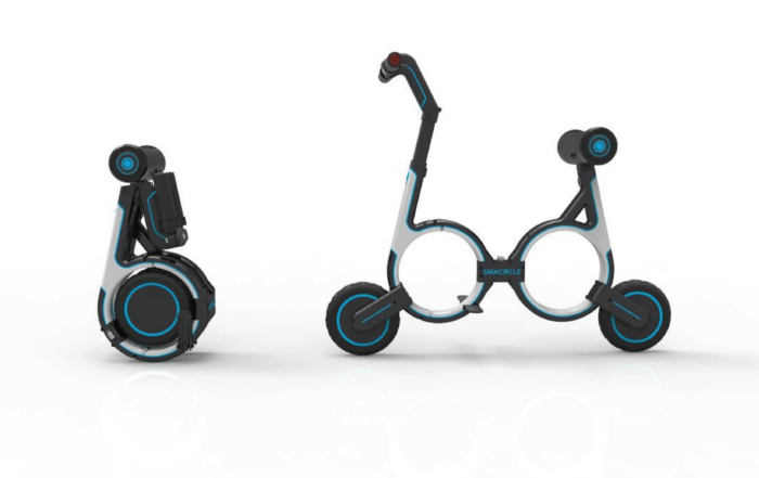 The bike of the Future- Smacircle S1 folding eBike