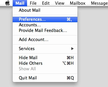 Apple Mail Can No Connect To Gmail