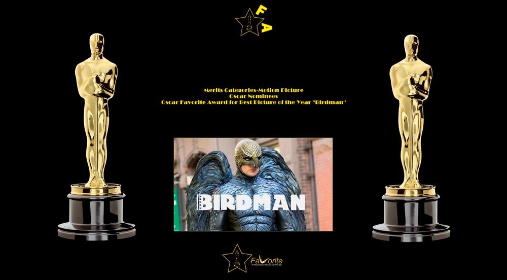 oscar favorite best picture award birdman