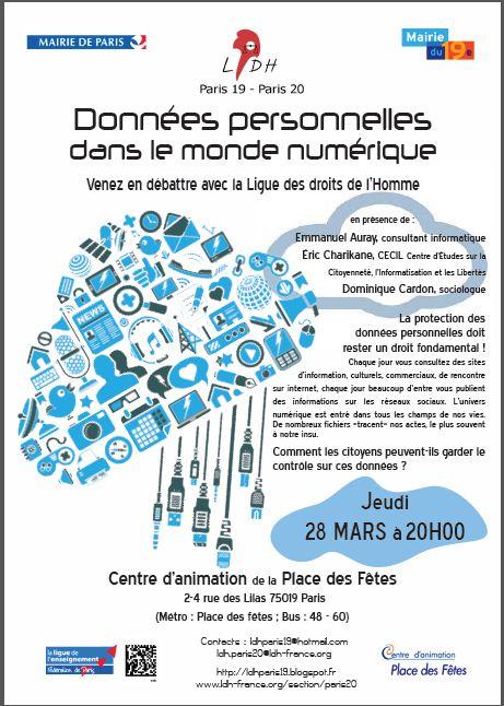 Ligue Des Droits De L Homme Paris 19 Arrondissement Debats Et