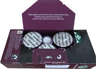 Starbucks Espresso Nespresso POD coffee capsules