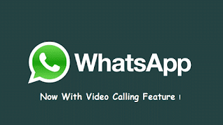 instant messaging app whatsapp started video calling feature