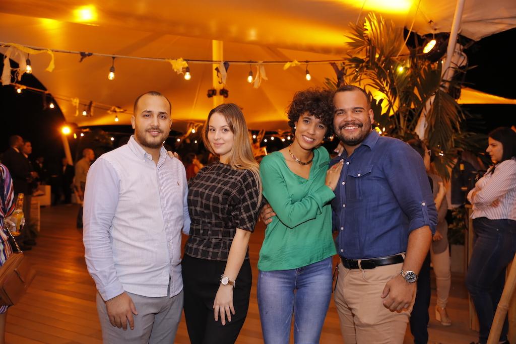 Maikel Galende, Ainhoa Montes, Ada Bernal y Willy Rodríguez.