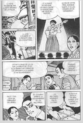 Nakazawa, Keiji. Gen d'Hiroshima, t.7,p. 188 © Vertige Graphic.