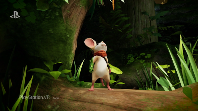 Moss Mouse PlayStation VR Game