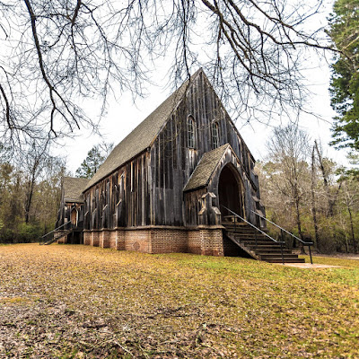 Old Cahaba Ghost Town Alabama by Laurence Norah