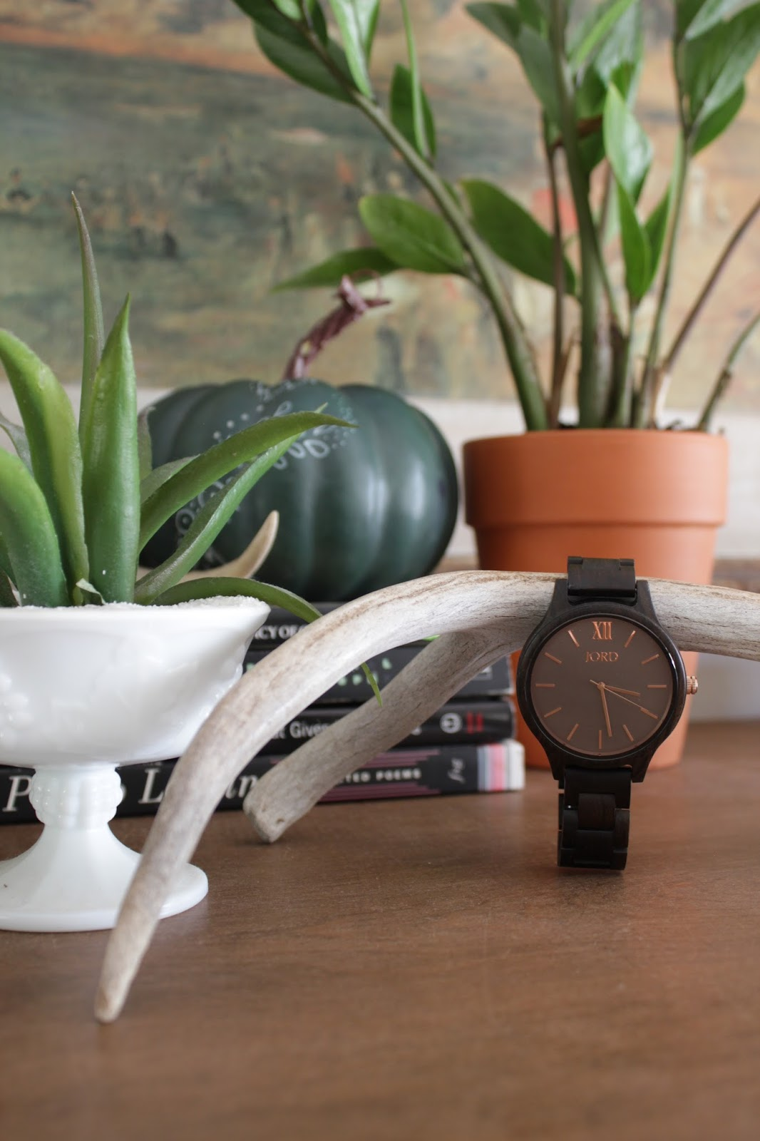 Jord wooden watch: frankie sandalwood and smoke