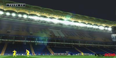 Pes 2016 Fenerbahce Ulker Stadium By Yucel1
