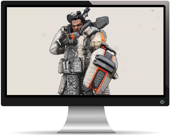 Apex Legends Gibraltar Artwork - Fond d'écran en Full HD 1080p