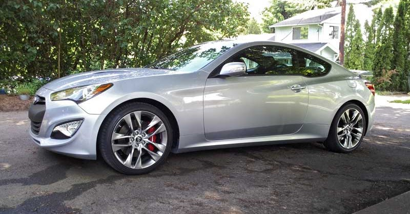 in the driveway 2013 hyundai genesis coupe 3 8 track subcompact culture the small car blog. Black Bedroom Furniture Sets. Home Design Ideas
