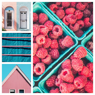 Raspberry-and-blue-interiors