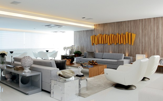 Salas de estar modernas e contempor neas decor alternativa for Sala de estar de madera