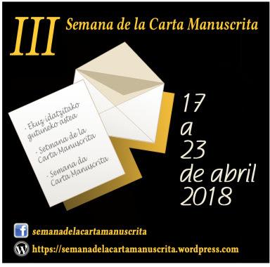 III Semana de la carta manuscrita