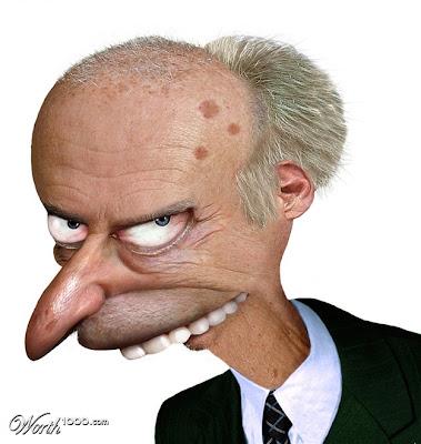 Señor Smiders  con un aspecto muy real.