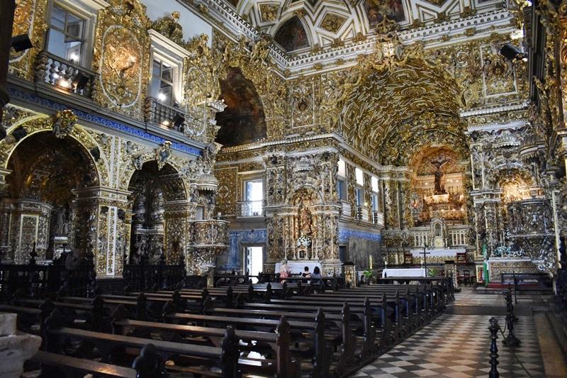 Igreja mais rica em ouro do Brasil