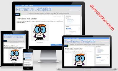 Template Terbaru 2017 Reiulanus Seo Responsive Download Gratis