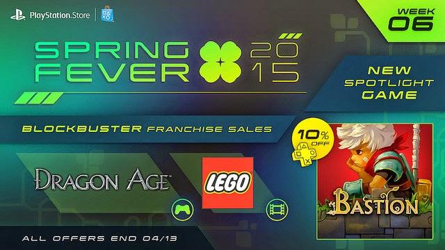 Gamer To Gamers Psn Spring Fever 6 Semana Ofertas En Juegos Dragon
