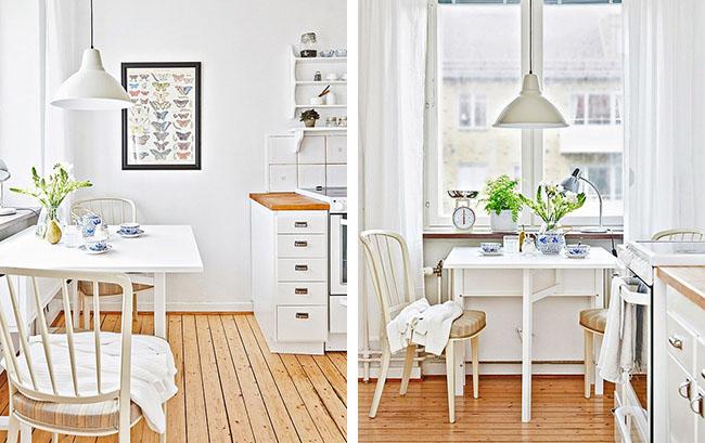 arredare piccoli spazi con toni naturali home shabby