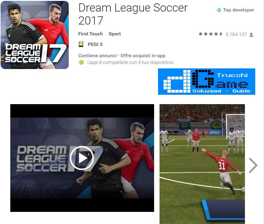 Trucchi Dream League Soccer 2017 Mod Apk Android v4.01