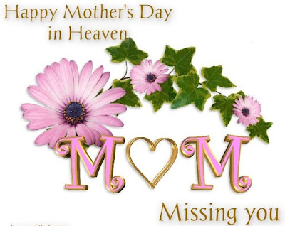 Moms In Heaven On Mother's Day Image