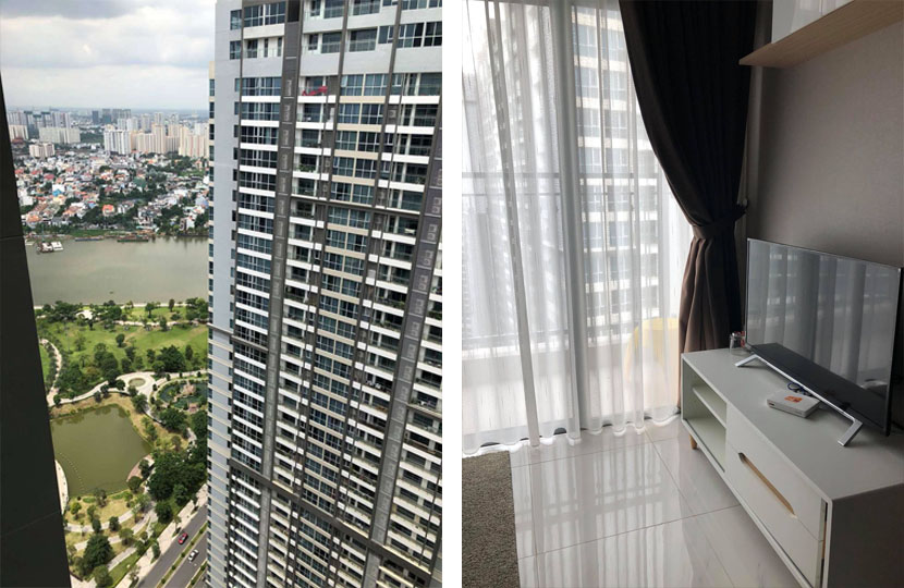Vinhomes Landmark 1 cho thuê căn hộ chung cư 67m2