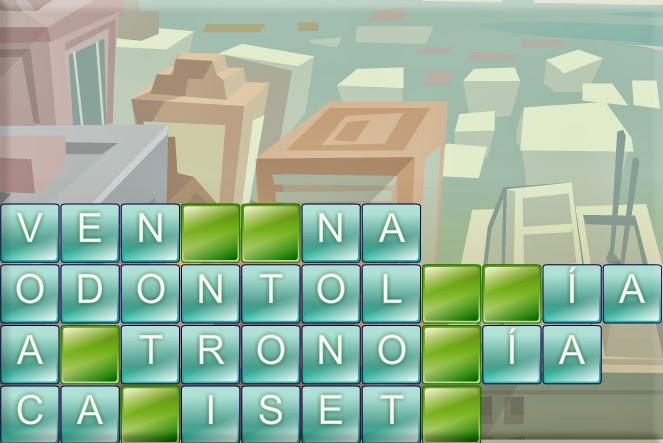 Torre De Letras Juego De Palabras Tipo Tetris Educar Y Motivar