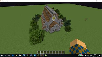 minecraft katedrális