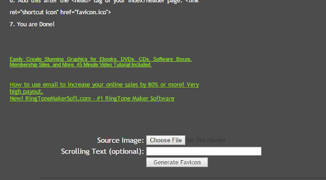 How to Easily Create Animated Favicons for Blogger blog