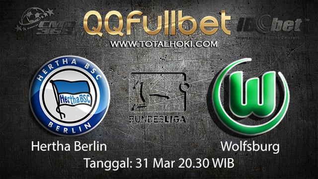 BOLA88 - PREDIKSI TARUHAN BOLA HERTHA BERLIN VS RB WOLFSBURG 31 MARET 2018 ( GERMAN BUNDESLIGA )