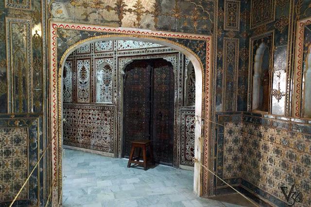 Corridor which leads to Kings chamber, Gaj Mandir
