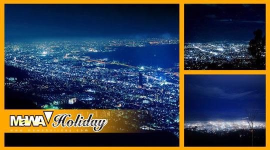 Citylight view dari bukit bintang