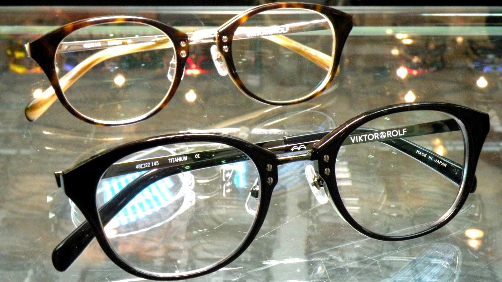 Viktor&Rolf中金眼鏡
