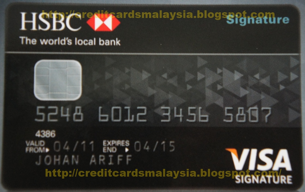 Hsbc Business Credit Card Payments Gallery - Card Design And Card ...