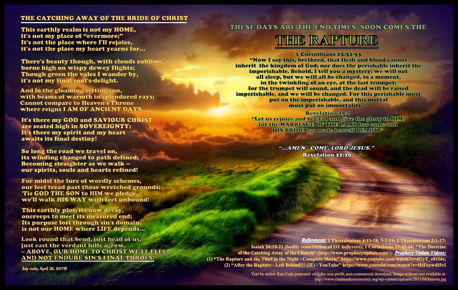The rapture essay