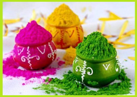 Make Holi Color At Home